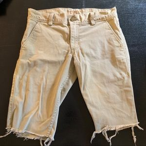 Levi 511 cut off shorts